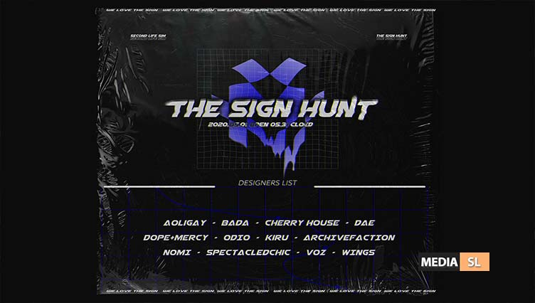 THE SIGN HUNT – May 2020