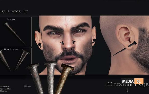 Spike Dilator Set AD by Madame Noir – NEW