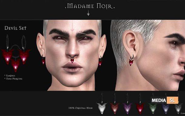 Devil Set by Madame Noir – NEW MEN