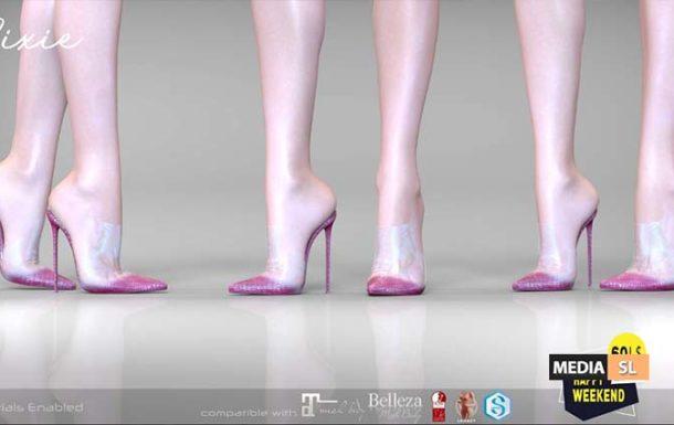Pixie Heels – 60LS Happy Weekend Sale – SALE