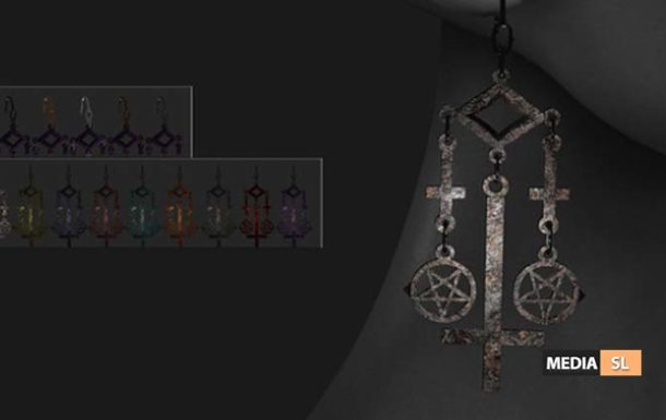 Inverted Earring by Madame Noir – NEW