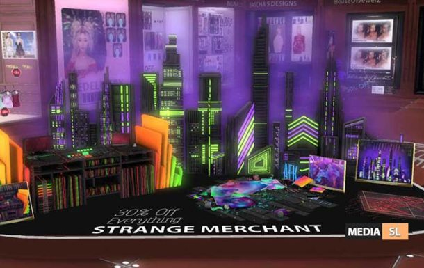 STRANGE MERCHANT @ LAST CHANCE EVENT – NEW DECOR