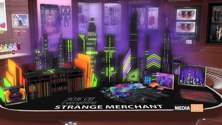 STRANGE MERCHANT @ LAST CHANCE EVENT – NEW DECOR