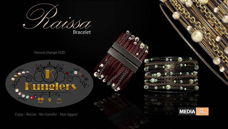 KUNGLERS – Raissa bracelet – NEW