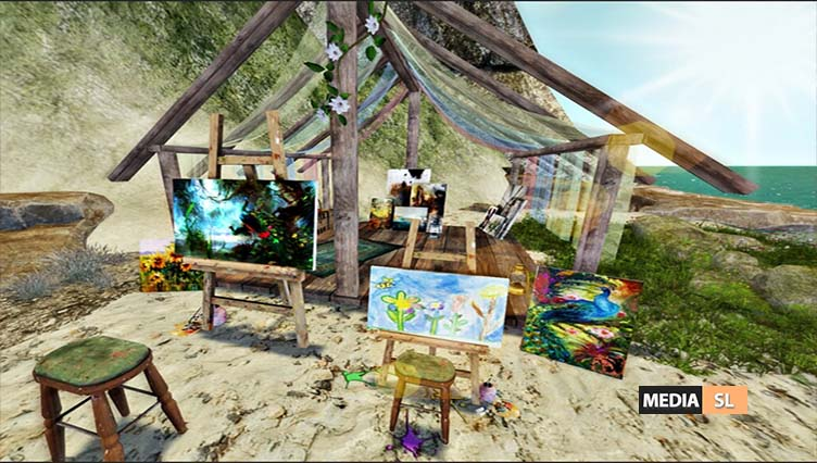 Beach Side Painting – BLOG