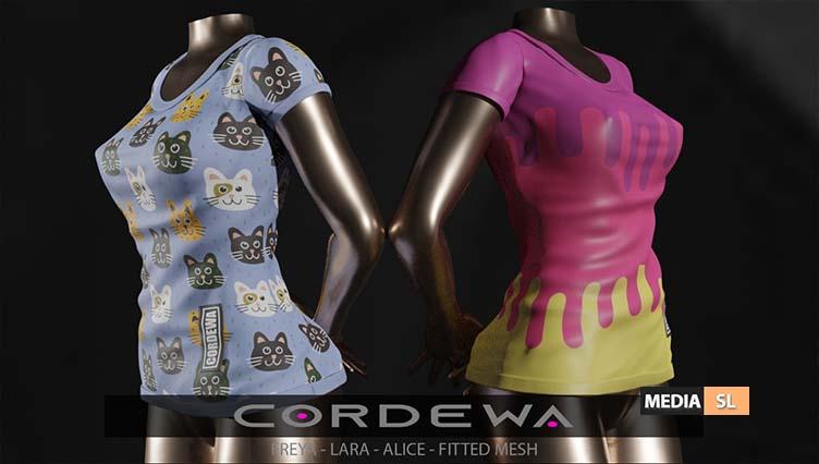 Cordewa – @ UniK – NEW
