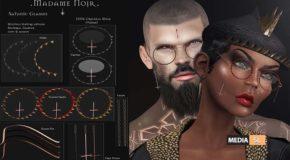 Satanic Glasses by Madame Noir – NEW