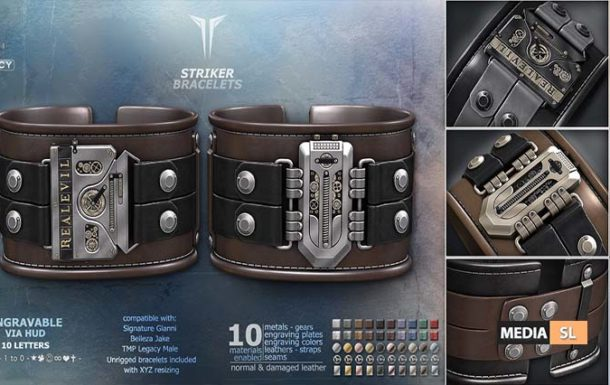 Striker Bracelets – NEW MEN