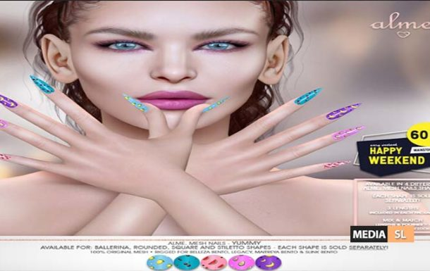 Alme. in Second Life for 60L$ Happy Weekend – Sale