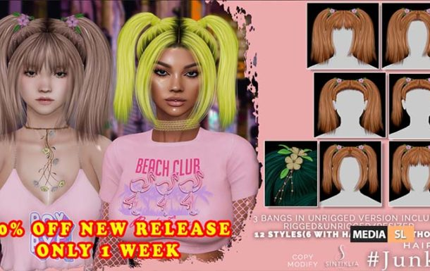 Hair Junko for Pop Up mainstore event – Sale