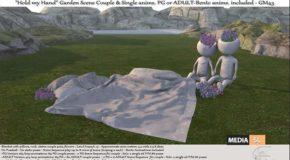 Hold my Hand Garden Scene – NEW DECOR