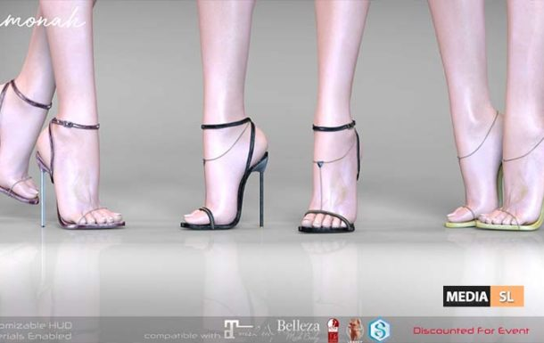 Ramonah Heels – NEW
