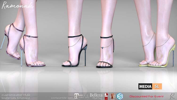 Ramonah Heels – NEW