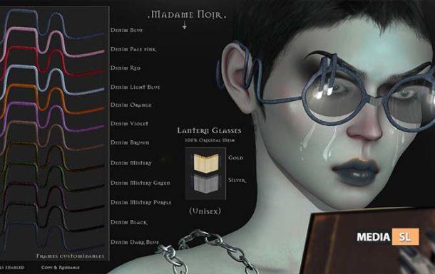 Lantern Glasses by Madame Noir – NEW