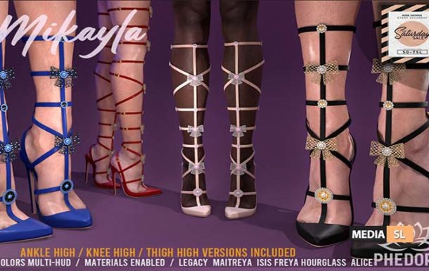 Mikayla Heels ♥  – Sale