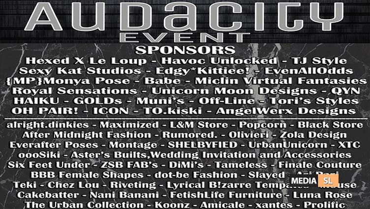 Audacity Event – June 2020