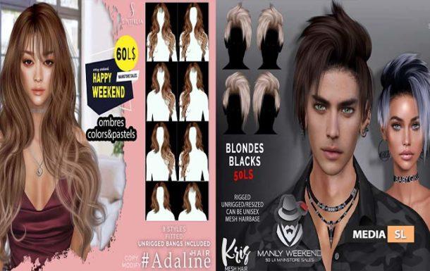 Adaline and Kris 60/50Ls  – SALE