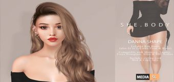 Danna & Chaeng shape for Lelutka Ryn Head – NEW
