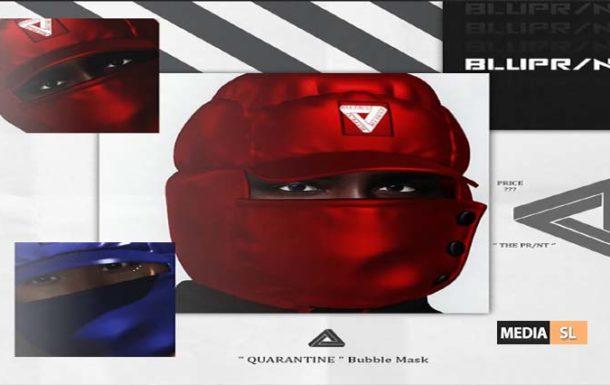QUARANTINE Bubble Mask – NEW