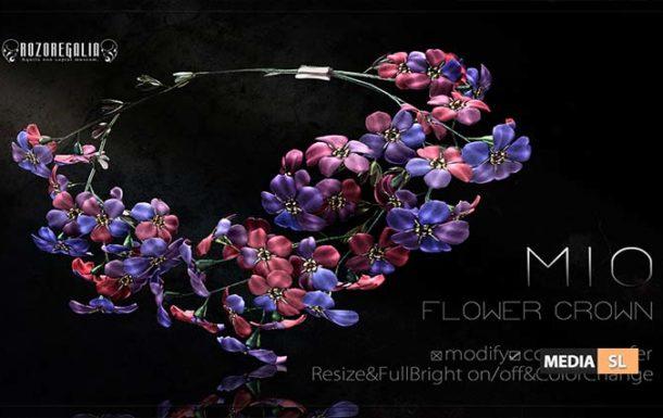 ROZOREGALIA MIO FLOWER CROWN – NEW