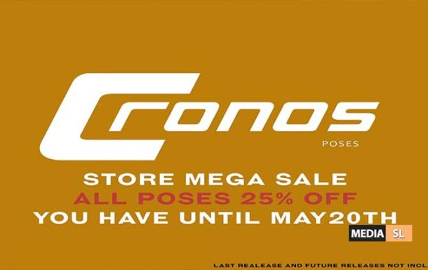 !!!MEGA SALE!!! ALL POSES 25% DISCOUNTED – SALE