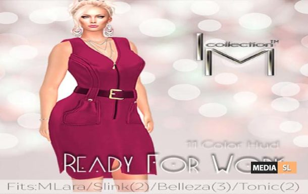 I.M.C. Ready for Work ad – NEW