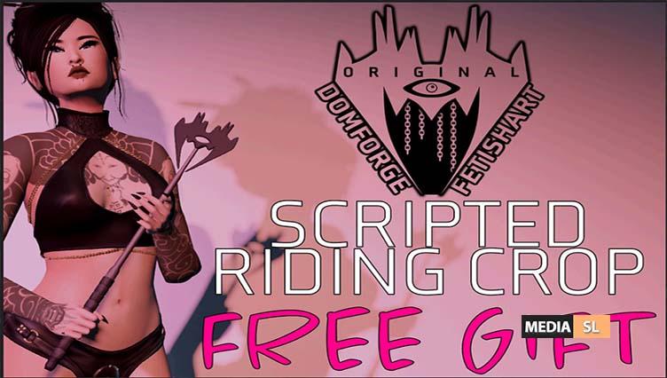 DOMFORGE – Free Riding Crop – Gift