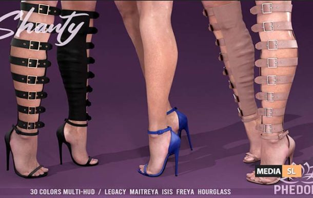 Shanty Gladiator Heels ♥ – NEW