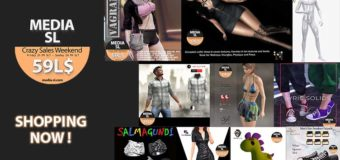 MEDIA SL CRAZY SALE WEEKEND – May 29-31TH