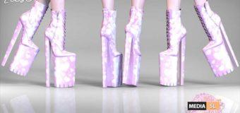 Remezzo – Elise Boots Pink – SALE