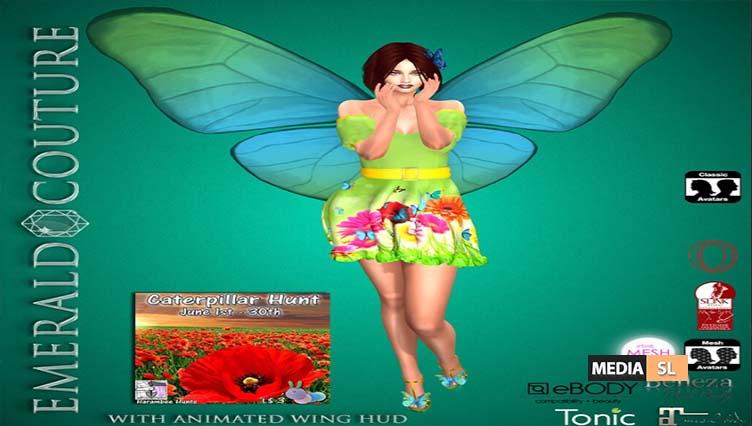 EC Annabella Butterfly Outfit Caterpillar Hunt – NEW