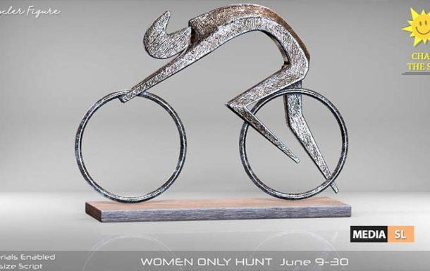 Remezzo – Bicycler Figure Decor – NEW DECOR
