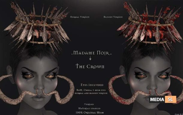 The Crown by Madame Noir – NEW