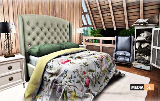 Tropical Bedroom  – BLOG