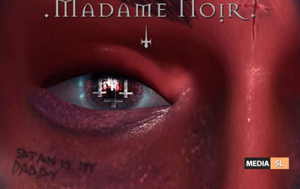 Damien Eyes Poster by Madame Noir – NEW