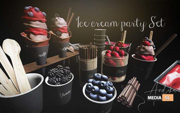 andika Ice cream party set – NEW DECOR