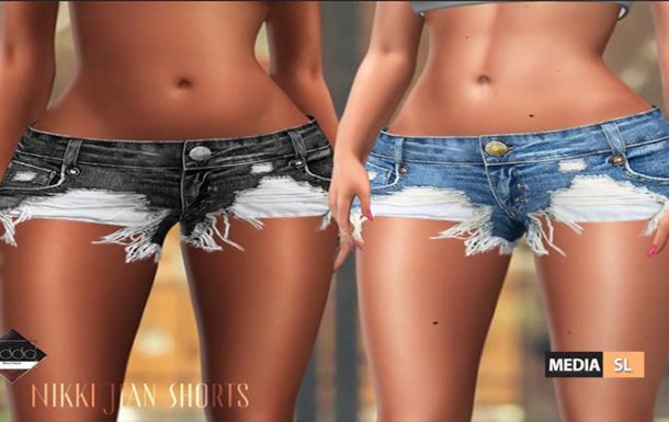 Nikki Jean Shorts – NEW