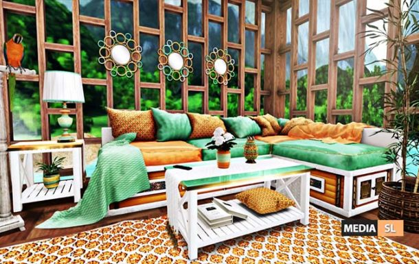 Tropical Living Room – BLOG
