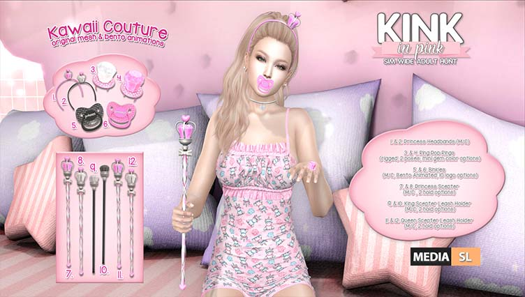 Kawaii Couture in Kink in PInk 10L – 25L Hunt @ ATCSL!  – NEW