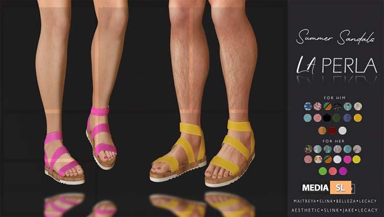 {LP}-Summer Sandals  – NEW