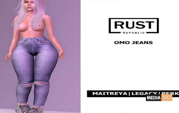 RUST REPUBLIC [OMO] jeans – NEW