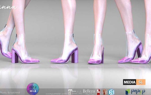 Remezzo – Jenna Boots Plastic – NEW