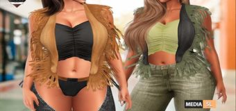 Trixie Tassel Vest & Top – NEW