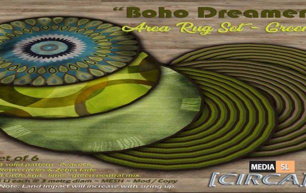 Boho Dreamer Area Rug Set – NEW DECOR