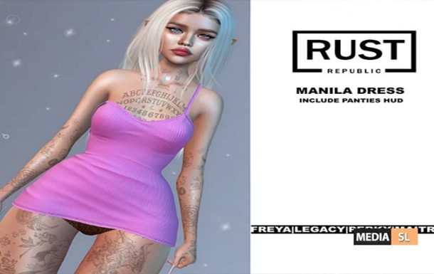 Manila dress – NEW