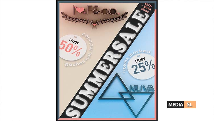 [I<3F] & co. and Nuva - Summersale - Sale