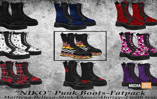 Tastic- New Release! Niko Punk Boots!  – NEW