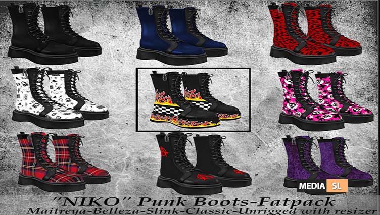 Tastic- New Release! Niko Punk Boots!  – NEW