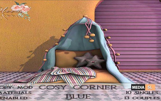Bloom! – Cozy Corner BLueAD  – NEW DECOR