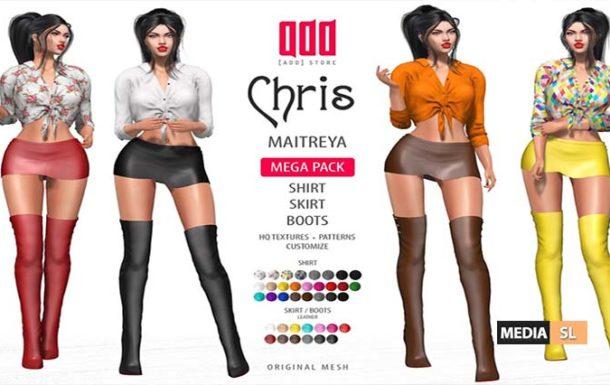 [ADD] Chris – Shirt Skirt Boot – NEW
